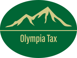 Olympia Tax Oval Logo