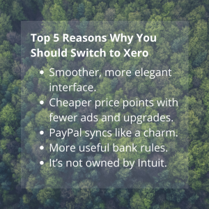"Info Graphic - ""Top 5 Reasons"